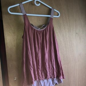 Pretty in Pink Tank Top Blouse